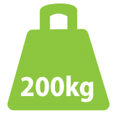 200Kg Fixed Lift - 4 Function