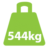 544Kg Bariatric Fixed Lifter