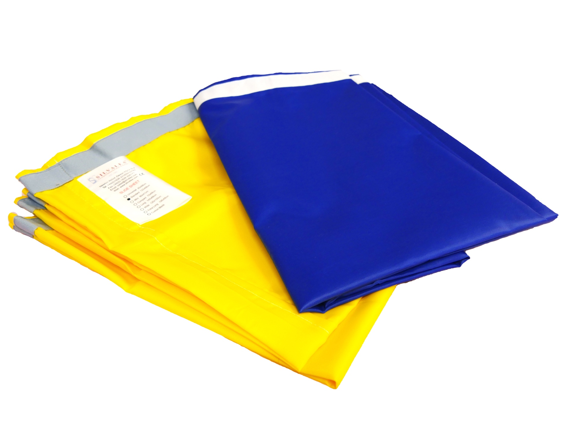 Cylindrical Slide Sheet with Taped Edges